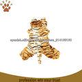 tigre en forma de traje de suave para perros