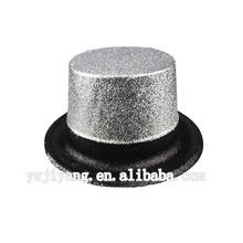 divertido de plata negro loco del festival de sombreros para la venta