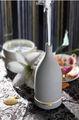 cor preto e branco de cerâmica difusor garrafa