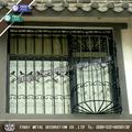 corredera ventana de hierro forjado diseños de la parrilla