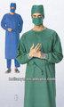 Anti bactéries tissu uniformes médicaux tissu/100% coton hôpital médecin infirmières uniformes tissu