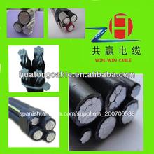 Ganar-ganar xlpe cable 600/1000v 50mm2 70mm2 95mm2 abc cable de aluminio