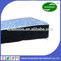 Papel de aluminio reflectante solo/doble cara lámina aislante de calor para la construcción