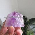Pirámide de cristal amatista natural / regalo de cristal Venta caliente