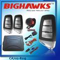Universal controle remoto do alarme do carro bighawks ca702-8219 controle remoto metal carro alarme auto sistema