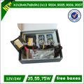 Larga vida útil normal, delgado, ac/dc canbus 6000k xenon kit ocultado 6000k philips h1