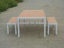 muebles de jardín hechos en china de mesa y una silla cf814