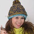 inverno beanie chapéu boina malha crochet tampão de mulheres de alta qualidade chapéus de inverno