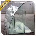 Curva 8 mm de vidrio templado de 10 mm