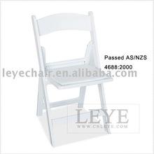 silla plegable para la boda