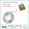 Beadsnice ID 28722 925 joyas de plata collar de plata al por mayor cadena italiana 18inch serpiente 1mm