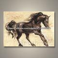 popular moderna decoración pintura al óleo del caballo
