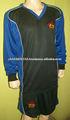 El real madrid de fútbol uniforme/sublimación uniforme de fútbol/del fútbol europeo uniforme del equipo