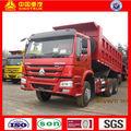 sinotruk howo 6x4 volquete camiones para la venta de la mano derecha unidad modelo