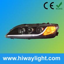 alibaba del mercado de accesorios de automóviles de china de piezas de repuesto asamblea faro para mazda 6
