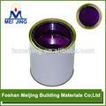 precio de la pintura para el mosaico de cristal de color púrpura como meijing fabricación china