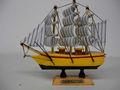 15cm tallada antiguo modelo de barcos de pesca