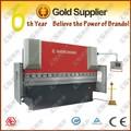 máquina de doblado, CNC Máquina plegadora hidráulica WC67K-160/4000