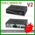 Sintonizadores tdt hd receptor de cable dvb-c 800 se-c v2 mainboard 2.2 simcard
