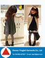 material de encaje falda encantadora flor niños ropa más los niños vestido 2013 diseños