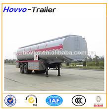 La norma iso de buena calidad para camiones de alimentos líquidos cisterna semi-remolque de transporte para la venta