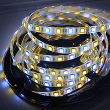 Smd5050 60leds/m 300 leds. une bobine de couleur double contrôle flexible led light strip