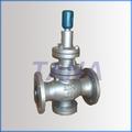 de alta sensibilidad de vapor válvula reductora de presión