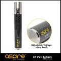 nuevo aspire vv batería de voltaje variable twist aspire vv cf de la batería