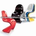 S silla/moderna silla de plástico