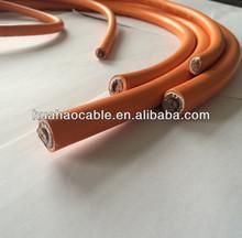 heavy duty 400 amp conductor de cobre estañado cable de soldadura