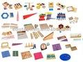 arábica montessori montessori material conjunto
