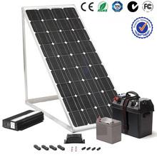 2014 alta calidad 10kw energía solar home system con el inversor de red