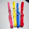 Pulgadas 1/2 hebilla de liberación rápida y flexiable elástica pvc collar de perro