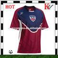 personalizado sublimación de alta calidad para niños camiseta de fútbol