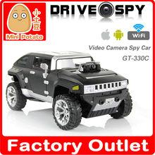 GT330C Iphone e Android controlado carro de vídeo controle Wifi rc carro de passeio camrea Drive & SPY 2.4G wi-fi Hummer