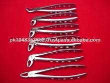 Instrumentos dentales/la extracción dental pinzas