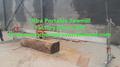 Aserradero- mundo!!! Portáble 660 stihl cadena de la sierra swing aserradero de la cuchilla