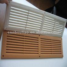 Linear air, de plástico de aire del difusor