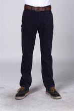 Nouveau design for 2014 pantalons homme, velours côtelé concepteur pantalons de travail