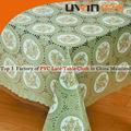 beautiful vinil laço toalha de mesa pvc toalha em rolo