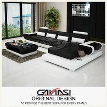 Ganasi l- sofá-forma set, tecido móveis para sala, móveis para casa de decoração