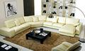 Foshan muebles de cuero sofás de salón