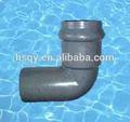 china pvc accesorios de tubería de pvc conector del tubo