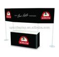 venta caliente portátil de la exhibición de publicidad de gran tamaño con la bandera en bajo costo establecido