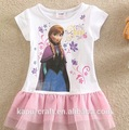 chico popular vestido de diseño de vestido para niña