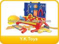 los niños de plástico kit de herramientas de juguete