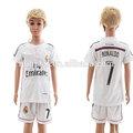 Nueva llegada 14-15 real madrid niños camiseta de fútbol( hsd- js- 17324)