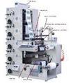 Máquina de impresión para etiquetas autoadhesivas HSR320-4B