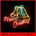 nuevo 2013 campanas gemelas luces con motivos alegres con carta de navidad