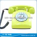 Caliente! Old fashioned teléfono fijo rotativo clásica dialers telefónica